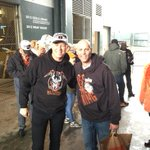 James Hetfield and Huddy all smiles #SFGParade http://t.co/E0ZidXgSmF