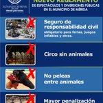 En el Cabildo de Mérida se aprobaron medidas y disposiciones al Reglamento de Espectáculos: #NoAlMaltratoAnimal .. http://t.co/RaKncfV2yD