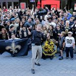 Finally a fun road trip! Enjoyed shooting all you Who Dats at the #Saints tailgate in Charlotte. #WhoDat http://t.co/pIXraFqK2s