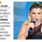 Per ora il prossimo appuntamento di @MarroneEmma è domenica su @RaiUno #canzone poi ci saranno due #surprise!!! http://t.co/SMBUct7zIM