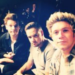 Niall posted this selfie of him Liam and Louis on instagram yesterday. http://t.co/eECLtkUtjA