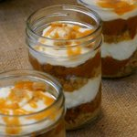 5 for $20.00; Last week to order your Pumpkin Pie Parfait, Blueberry, Strawberry Cheesecake @DTKitchener http://t.co/Io154KXE8N