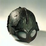 Heres the only example of a complete Viking helmet in existence, taken from a burial mound. http://t.co/zBkJWTU4m7