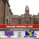 Live from Morgantown, Welcome to #CFBLive! Tune in on ESPN http://t.co/DDfOv7848z
