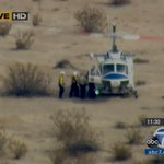 RT @ABC7: #SpaceShipTwo UPDATE: Rescue crew seen carrying person on stretcher to chopper http://t.co/fahuxdltQ7 http://t.co/oy4DadISMv