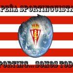 LA PEÑA SPORTING... SOMOS TODOS, YA PREPARA VIAJE CON EL SPORTING. OS INFORMAREMOS... #Abelardismo http://t.co/jiCDqOGR7S