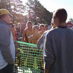 Great post race reception for @MIZ_TrackField women! Solid race ladies! Proud of you! http://t.co/p56skj4YTS