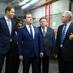 Дмитрий Медведев @MedvedevRussia на текстильной фабрике «Красная Талка» http://t.co/RungZ6KM8t