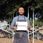 Paul Qui comes out of kitchen to urge #atx to #bikewalkvote. Our endorsements at http://t.co/khWbY7xrcz. Thx @pqui http://t.co/G5caB940af