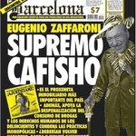Se va un grande del proxenetismo argentino, se va Eugenio Raúl Zaffaroni. #SupremoCafisho http://t.co/nbQsQpeKid