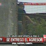 """#AHORA: Se entrega ante el pedido de grupo GEOF el tirador de """"Las Cañitas"""" http://t.co/yfZTjOMgwN http://t.co/T31SLERpUg"""