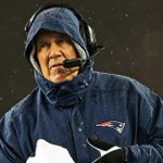 Bill Belichick Wages War On Meteorologists http://t.co/BTeS8Pshk8 http://t.co/8T5KSuxwwK