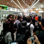 [Info] Running Man members had safely arrived Malaysia! :D #RaceStartMY [cr respective owners via @JihyoFanclub] http://t.co/Mqemt0InW1