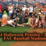 HAPPY HALLOWEEN!!! Come watch our costumed practice at 2 p.m. today at the #FAU Baseball Stadium! http://t.co/QMjaWfBJ1h