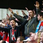 Tickets for the trip to @OfficialFOXES are SOLD OUT - 3,211 sold. Thanks for your magnificent support! #hawaythelads http://t.co/9A0tLkCApv