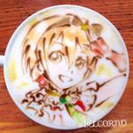 ラテアート【星空凛】@ラブライブ! LatteArt【Rin Hoshizora】 本日お誕生日で一杯。 Happy Birthday! #星空凛生誕祭 #星空凛生誕祭2014 #ラブライブ http://t.co/bGmHzST988