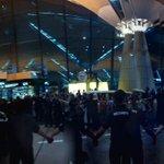 JiHyo, HaHa, KwangSoo,SukJin and JongKook arrived safely in Malaysia with awesome fans greeted them #RaceStartMY http://t.co/wSWOWQJCAi