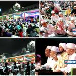Lebih 15,000 tetamu di Dataran Putrajaya menghayati Program Selawat Perdana. Pix Fariz Iswadi Ismail http://t.co/DbCCqwR65P