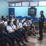 #NoALasDrogas charla sobre prevención del consumo de drogas. Escuela Eulogia Ruiz Ruiz, Grecia, Alajuela #Prevención http://t.co/HG3kRoZIUI