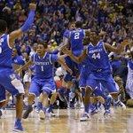 BREAKING: Kentucky tops preaseason Top 25 mens basketball poll. Arizona, Wisconsin, Duke, Kansas round out top five http://t.co/yhFMWmfaeB
