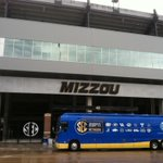 You know its a big game when the AT&T #SECNation Bus rolls in! MIZZOU, tweet us if you see the bus. http://t.co/WraiZ0g7BA