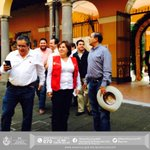 Me encuentro en #Coatepec con el alcalde @JuaneloCoatepec supervisaremos el mercado Rebolledo. http://t.co/6ke1nDtfBf