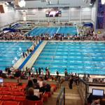A big shout out to our Cedar Ridge swim team and fans! Competing at the AISD Capital City Swim Classic. Go Raiders! http://t.co/NVJFJQTQXL