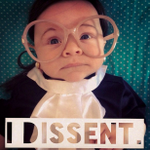 #alumnicostumeideas RT @rubinafillion Ruth Baby Ginsberg wins the internet this Halloween http://t.co/FPINmIWOIa http://t.co/VcqSMVdIGT