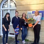 Congratulations to Swindon Museum of Art who won the @LilGemsFlowers bouquet for Best family activity #Swindon http://t.co/bbwnROQBjC