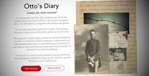 http://t.co/qPxNVljSwE My great grandfather's war diary, published as a blog 100 years since he set of for war. http://t.co/mUhctV53Zd