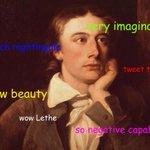 Happy 219th Birthday John Keats http://t.co/TOqFDtAEqw http://t.co/JUE3iE6nt4