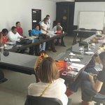 En sala de juntas de la Alcaldia De Valledupar para cierre de la negociación colectiva 2014 @cgtcolombia1 @cgt_cesar http://t.co/yTiREygLu4