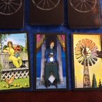 Today is the day! Fundraiser tarot readings at @BTBSbend 6 pm - 8 pm! You might get a spread like this: http://t.co/50kkp9Pg4b