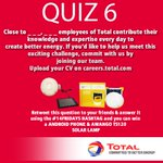 Close to _, _ employees of Total contribute their knowledge & expertise every day to create better energy.#14FRIDAYS http://t.co/CbagV4ZvbE