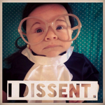 """Ruth """"Baby"""" Ginsburg beats everyone at political Halloween costumes and being cute http://t.co/V7NAGSaC7s http://t.co/h5LYtIJIkh"""