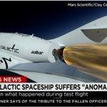LO ÚLTIMO. Nave espacial de Virgin Galactic se estrella en EEUU http://t.co/2PJBmvxWGL http://t.co/S4ijZ4fzdn vía @biobio