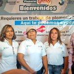 Inauguró @EVillegasV el primer taller de #PlomerasContigo donde además las dotó de equipo para desarrollar su oficio. http://t.co/vwgJacXJlv