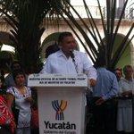 """Gobernador @RolandoZapataB en su mensaje de inauguración en Muestra de Altares """"Hanal Pixán"""" #DíadeMuertos #Yucatán http://t.co/q0kgfWgU6m"""