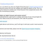 Bedrieglijk echt lijkende fishingmails op mn Apple vragen update iCloud-gegevens. Trap er niet in, afz is niet Apple http://t.co/O8GY995tBl