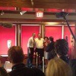 #Obama stumps w RI gubernatorial candidate Gina Raimondo. Orders choc layer cake for trip home on AF1. http://t.co/Xmob3yImaL