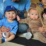 @Royals #RoyalsHalloween Baby @BillyButlerKC and his moose sister. Cmon, I got the facial hair just right. http://t.co/9veYNJGNa9