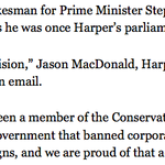 "Harper reacts to Del Mastro conviction: ""Who? Name doesnt ring a bell..."" #cdnpoli http://t.co/uCJ7D1guVq"