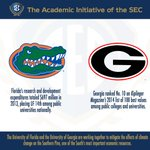 RT @TheSECU: Take a look at what @UF and @universityofga are doing away from the field #SEC http://t.co/EB2u6lERnA