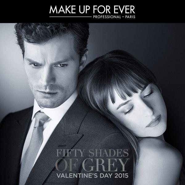 Secret's out-limited edition movie inspired color collection avail 12/26 #MAKEUPFOREVER in partnership w Fifty Shades http://t.co/iu9d5MgVV5