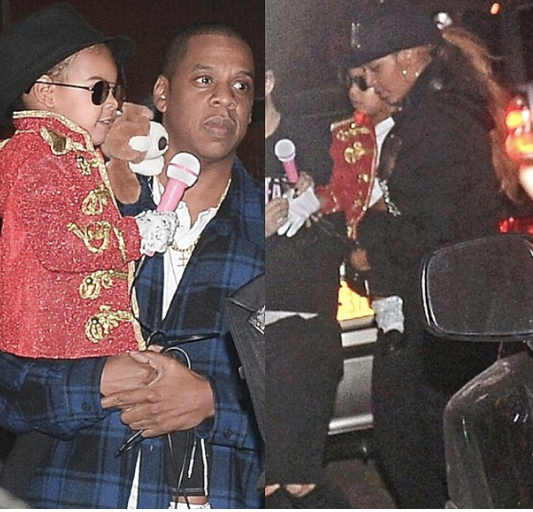 "She won!! ""@necolebitchie: [Gallery] Blue Ivy was Michael Jackson for Halloween! http://t.co/xQHwcUEVwx http://t.co/0JPNCIBV61"""