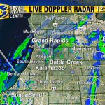 It will be snowing in #Kalamazoo before 2 PM. #wwmt #wmiwx ... Watch @weathermankeith at 5! http://t.co/WrLxPbylVe