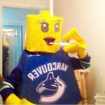This #LEGO minifigure is totally ready for her big day! #HappyHalloween #Canucks #Vancouver http://t.co/UaY4H2070U