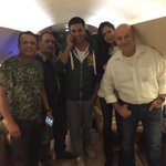 #TheShaukeens take off for Mumbai.:) @akshaykumar @HaydonLisa @annukapoor_ #PiyushMishra