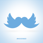 Go with the Mo and support #Movember! We think this Twoustache should be the official Twitter avatar (CC @twitternl) http://t.co/enyNsHzI89