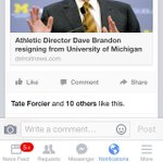 Via @isaiahhole, at least one former Michigan QB won't exactly miss Dave Brandon: http://t.co/0ajeM2bIFo http://t.co/GnN6P958eF